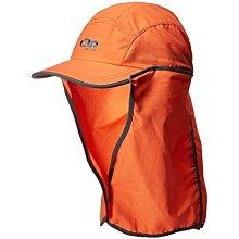 滿3000免運TheNorthFace雙和專賣店OR兒童抗UV透氣護頸帽Sun Runner Cap/243434 橘