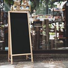 黑板/白板【雙面黑色黑板】廣告立牌 廣告展示架 黑板畫架 白板架 直立看板 磁性黑板 台南直立黑板*JING&NIKKI