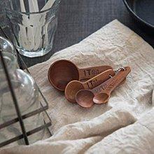 現貨 ◎ 現貨 雜貨 木匙 量匙組 印尼手工 4件組