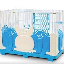 【愛思沛】鐵網中兔籠(兔造型圍片) 台製全配兔籠 精緻室內籠