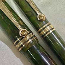 Wahl Eversharp 永鋒 Brazilian Green Equipoise 1930年代 平衡力 (青銅綠色