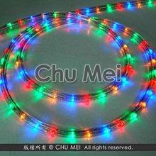110V-彩光LED三線非霓虹燈50米 - led 燈條 彩虹管 圓三線 非霓虹 水管燈 聖誕燈 管燈 條燈 裝飾燈
