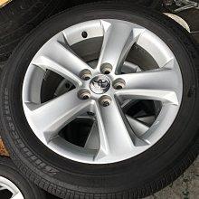豐田原廠 5孔114.3 17吋鋁圈含輪胎 CAMRY AVALON INNOVA 原廠