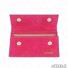 【WEEKEND】 JACQUEMUS Le Chiquito Long 手提包 肩背包 粉色
