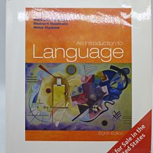 An Introduction to Language-8/E_Victoria A. Fromkin〖大學文學〗AFC