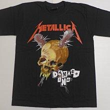 【Mr.17】Metallica Damage Inc 金屬製品樂團 重金屬搖滾T恤團T短袖 (B010)