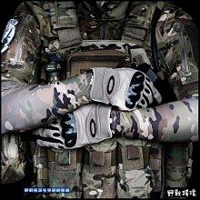 【野戰搖滾-生存遊戲】WARCHIEF 戰術迷彩袖套【黑蟒蛇紋、叢林蛇紋、沙漠蛇紋】籃球臂套自行車萊卡袖套防曬袖套綠蟒蛇