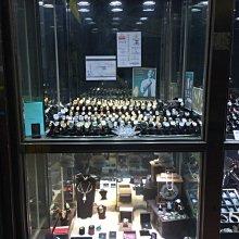 【益成當舖】流當品 特價結緣 白K金35分(0.35克拉)四爪鑽石耳環耳釘
