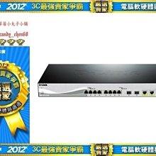 【35年連鎖老店】D-Link DXS-1210-12SC智慧型10G 交換器有發票/3年保固