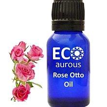 純淨15ML 奧圖玫瑰精油 100%天然未稀釋,有機和素食主義者 純生態玫瑰油 原裝