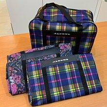 JANOME車樂美縫紉機 原廠兩用手提袋 防塵防水手提袋 機型661/668。兩個顏色