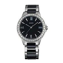 可議價 ORIENT東方錶 女 經典晶亮 石英腕錶 (FQC11003B) 34mm