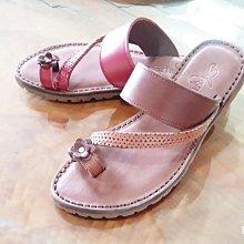 ♀️女:Summer必備-波希米亞風繞指涼拖鞋(紅/咖)、繞指拖鞋、小花涼拖鞋、波西米亞拖鞋、文青復古牛皮拖鞋