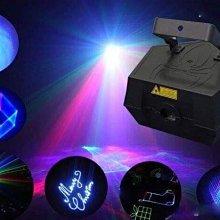 四瓦 RGB 全彩動畫雷射效果燈!戶外 無煙測試!