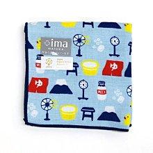《散步生活雜貨-和雜貨散步》日本製 +ima 今治毛巾  純棉 超柔軟 小毛巾 手帕- 錢湯