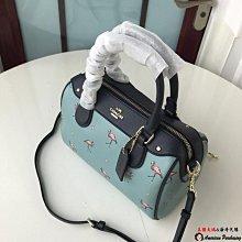 美國大媽代購 COACH 寇馳 29557 火烈鳥波士頓包 枕頭包 手提包 斜背包 美國代購