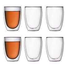 丹麥 Bodum PAVINA 350ml /12oz  雙層 隔熱 玻璃杯 咖啡杯 散裝 一入