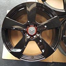18吋BENZ W207原廠鋁圈~全亮黑~義大利製前後配W211.W204.W205.W212.CLA.GLA.C300