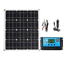 戶外40W可彎太陽能電池板適用于露營車 船 房屋 花園棚屋或農場太陽能充電板