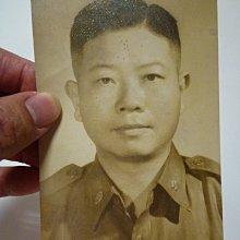 238--國軍官~胡志恆(免運費)軍人相關簽名照53年--絕版大張--老照片
