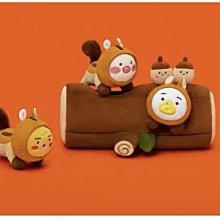 正品 韓國 Kakao Friends 松鼠 松鼠窩 樹洞 秋天款 玩偶 娃娃 萊恩 屁桃 超可愛 Ryan 生日 禮物