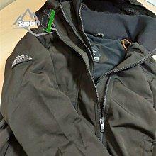 「i」【現貨】極度乾燥 Superdry 暗黑 秋冬新款 三層拉鍊 保暖鋪絨 連帽風衣外套 夾克
