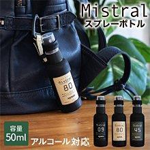 [霜兔小舖]日本代購 Slower  可掛式遮光噴霧瓶  50ML 空瓶 可裝80%以下酒精 共三色