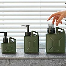 【台灣現貨 】GO OUT 雜誌暢銷款軍用油桶造型 分裝瓶 套裝組 250ml & 450ml & 750ml