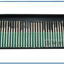=海神坊=2.4mm 鑽石研磨針組 雕刻機磨棒 研磨棒 研磨機磨棒 不同類型 超划算超便宜30pcs 48入3750免運