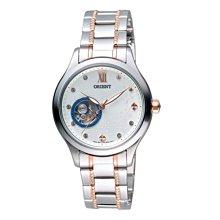 可議價 ORIENT東方錶 女 時尚鏤空 機械腕錶 (FDB0A006W) 35mm