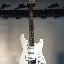 【六絃樂器】全新精選 Bensons ST型 白色電吉他 / 現貨特價