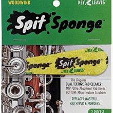 §唐川音樂§【Key Leaves Spit Sponge Wood Wind 木管樂器 皮墊吸水布 】(2片入) 美國