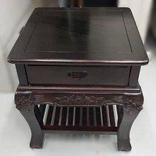 樂居二手家具(北) 便宜2手傢俱拍賣ZM102306雞翅木四方茶几* 二手沙發 二手客廳桌椅 二手茶几 台北桃園