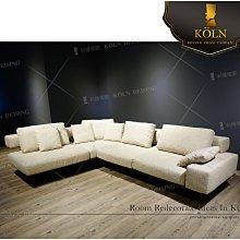 【爵品訂製沙發】MF-SL-28復刻Flexform 設計師款L型布沙發,訂製L型牛皮沙發,尺寸、顔色可客制化