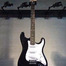 【六絃樂器】全新精選 Bensons ST型 黑色電吉他 / 現貨特價