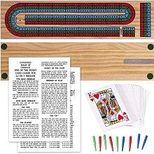 德國 Cribbage篋牌/克里比奇/原木遊戲組 3人組