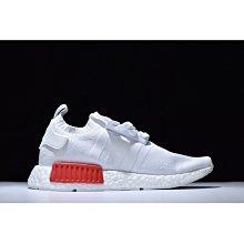 Adidas Originals NMD R1 PK 白藍紅 全白 S79482 男 女慢跑鞋