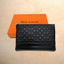 【REIS LOUIS 李斯路易斯】浮雕菱格牛皮手拿包(菱格 手拿包)(原價10320)