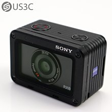 【US3C-南港店】公司貨 Sony Cyber-shot DSC-RX0 運動攝影機 1530萬像素 攝影機 防水防震防撞 40X 慢動作影片 僅重110g