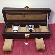 "義大利""GENUINE LEATHER""手錶收藏盒"