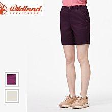 丹大戶外【Wildland】荒野 女彈性抗UV五分短褲 0A91381 三色│抗紫外線│戶外服飾│旅行│日常