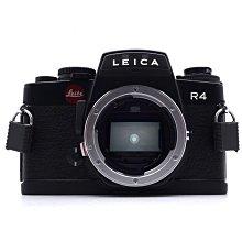 【台中青蘋果】徠卡 Leica R4 黑機 單機身 底片相機 R卡口 #64521