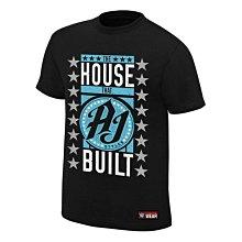 ☆阿Su倉庫☆WWE AJ Styles The House That AJ Built Tee AJ王者冠軍黑色版熱賣