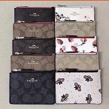 美國正品 COACH 16107 26657 蔻馳經典印花小包 拉鏈款零錢包 鑰匙包 卡包
