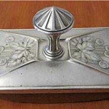 藝術風格鍍銀壓墨器