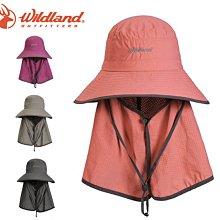 丹大戶外【Wildand】荒野 中性抗UV多功能遮陽帽 W1028 四色