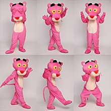頑皮豹粉紅豹行走卡通人偶服裝cosplay表演道具動漫人物演出玩偶