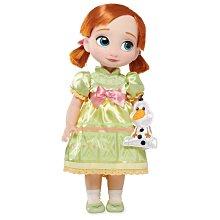 【100%美國迪士尼正品】Disney Princess 冰雪奇緣 Frozen Anna 安娜Q版冰雪公主大眼娃娃玩偶