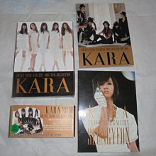 kara sweet muse  GALLERY MBC DVD COLLECTION 3dvd韓國女團 2010+寫真