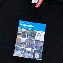 全新正品美國 Supreme 2020FW Week1 Verify Tee 九宮格衛星街景圖 短袖